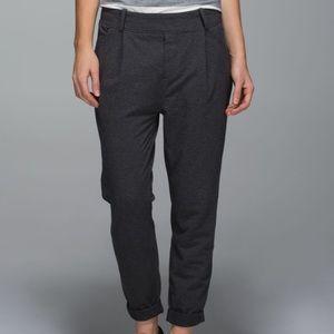 Lululemon Stress Less Pant Dark Grey Size 4